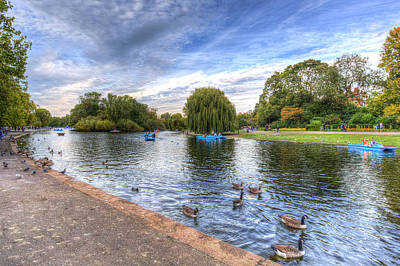 Photograph - Regents Park London by David Pyatt
