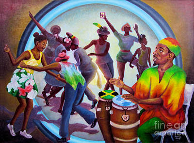 Painting - Reggae Signal by Ewan McAnuff