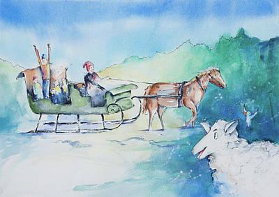 Reggie Painting - Reggie Is Found by Adam VanHouten