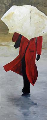 Reggie Painting - Reggie by Michael Tokarski