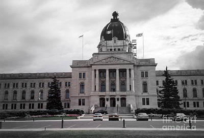 Regina Legislative Building Art Print