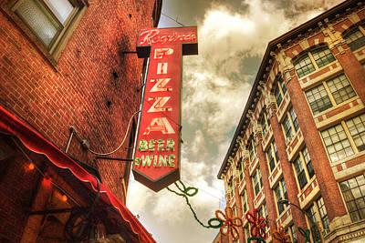 Photograph - Regina Pizza - Boston North End by Joann Vitali