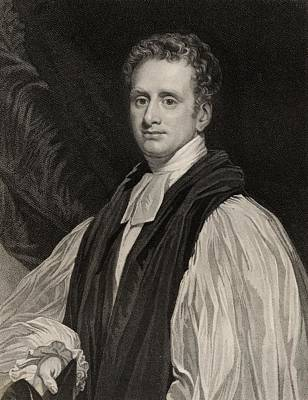 Lord Drawing - Reginald Heber, 1783-1826.english Lord by Vintage Design Pics