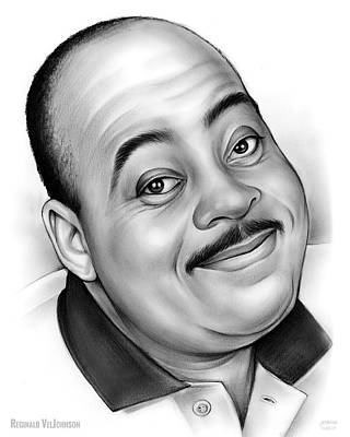 Drawings Rights Managed Images - Reginald VelJohnson Royalty-Free Image by Greg Joens