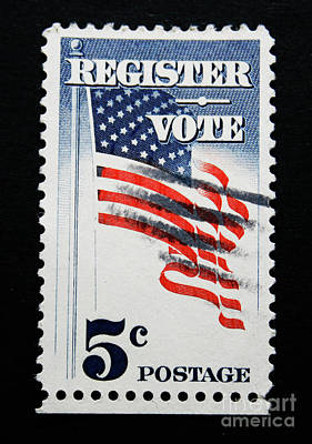 Photograph - Register To Vote by Patricia Hofmeester