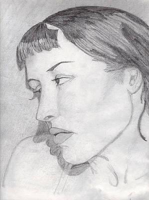 Regret Art Print by Jean Haynes