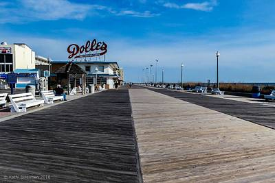Photograph - Rehoboth Beach Boardwalk I by Kathi Isserman