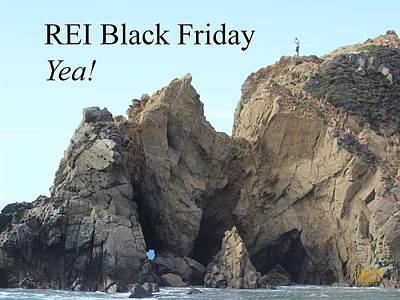 Photograph - Rei Black Friday by Gary Canant