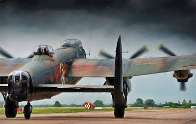 Royal Air Force Digital Art - Reich Breaker by Peter Chilelli