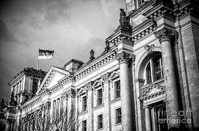 Photograph - Reichstag Building by John Rizzuto
