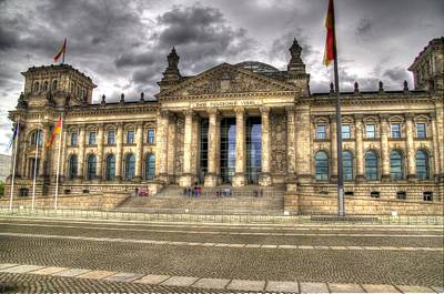 Reichstag Building  Print by Jon Berghoff