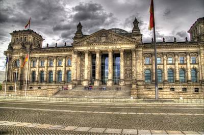 Reichstag Building  Art Print