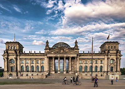Photograph - Reichstag by Framing Places