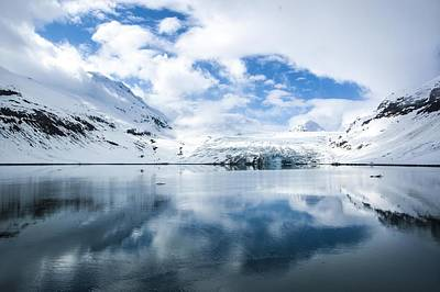 Photograph - Reid Glacier Glacier Bay National Park by NaturesPix