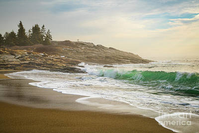 Maine Shore Photograph - Reid State Park by Benjamin Williamson
