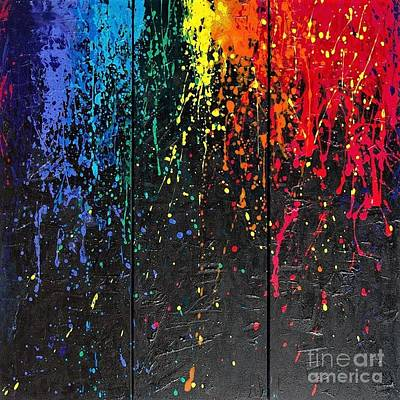 Painting - Reign Of Color by Annie Young Arts