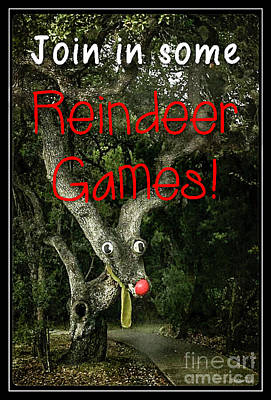 Photograph - Reindeer Games by Teresa Wilson