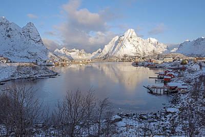 Photograph - Reine, Lofoten 1 by Dubi Roman