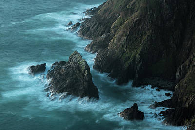 Photograph - Reinga Cliffs by Martin Capek