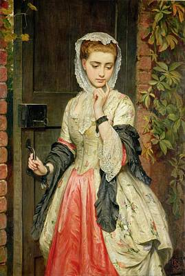 Disappointed Painting - Rejected Addresses by Charles Sillem Lidderdale