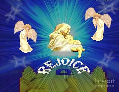Painting - Rejoice by Belinda Threeths