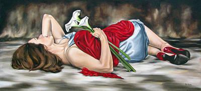 Rejoice Art Print by Ilse Kleyn
