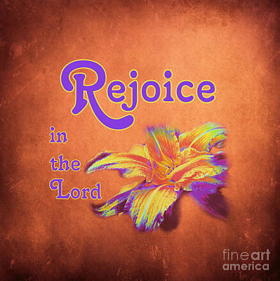 Photograph - Rejoice In The Lord by Renee Trenholm