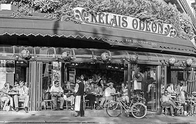 Photograph - Relais Odeon Cafe, Paris by Frank DiMarco
