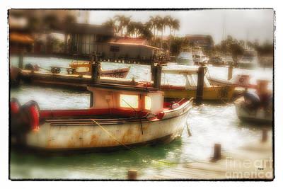 Caribbean Photograph - Aruban Quay  by Steven Digman