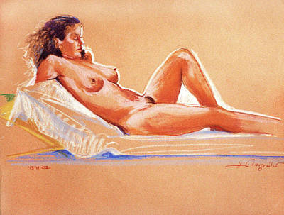Painting - Relax by Johannes Margreiter