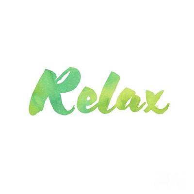 Photograph - Relax by Laura Kinker