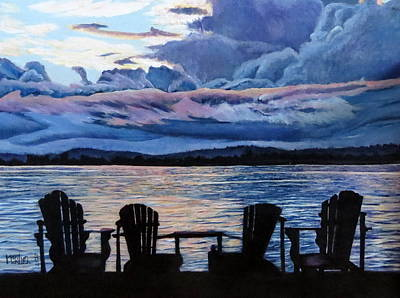 Painting - Relax by Marilyn McNish