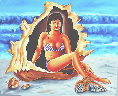 Painting - Relax by Ragunath Venkatraman