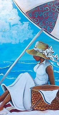 Relaxation Art Print by Sonja Griffin Evans