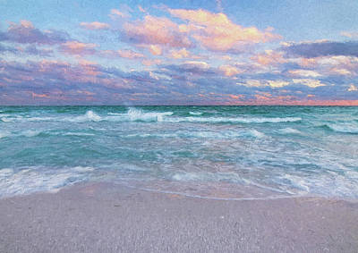 Relaxation Therapy Artistic Impression Art Print