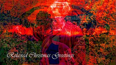 Photograph - Relaxed Christmas Greetings by Dorothy Berry-Lound