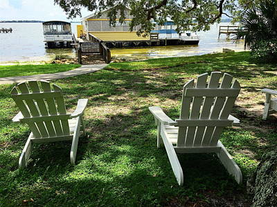 Photograph - Relaxing At The Lake by Denise Mazzocco
