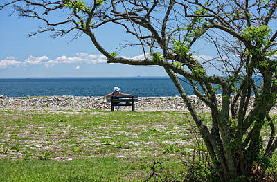 Photograph - Relaxing By The Shore by Karol Livote