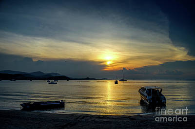 Photograph - Relaxing Evening by Michelle Meenawong