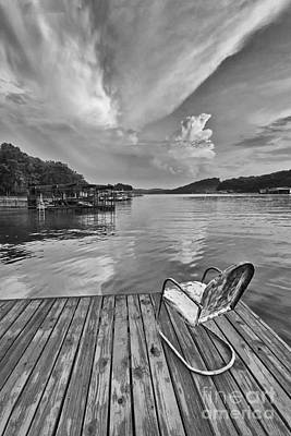 Photograph - Relaxing On The Dock by Dennis Hedberg