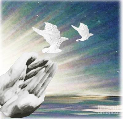 Painting - Release by Belinda Threeths