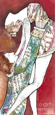 Mixed Media - Release Me by Annalisa Loevenguth