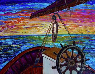Painting - Release The Sails by Jacqueline Athmann