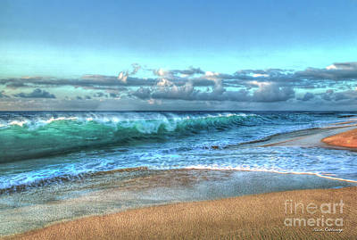 Photograph - Relentless Breakers North Shore Sunset Oahu Hawaii Art by Reid Callaway