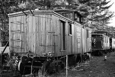 Photograph - Relic Caboose by John Clark