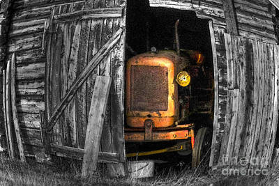 Barn Digital Art - Relic From Past Times by Heiko Koehrer-Wagner