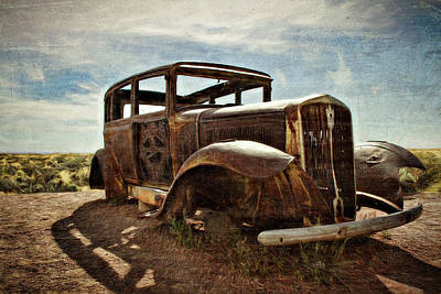 Photograph - Relic On Route 66 by Lana Trussell