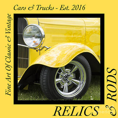 Photograph - Hot Rod 4 - Relics And Rods by Wendy Wilton