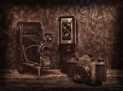 Photograph - Relics by Mark Fuller