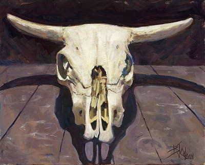 Painting - Relics Of Ghost Ranch by Billie Colson